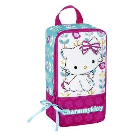"Geanta pentru incaltaminte colectia Charmmy Kitty ""Flowers"" 2"