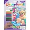 Set creativ educativ - Coloreaza pe numere - O zi de vara