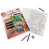 Set creativ educativ - Coloreaza pe numere - Vrajitor