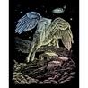 Set gravura pe folie holografica - Pegasus