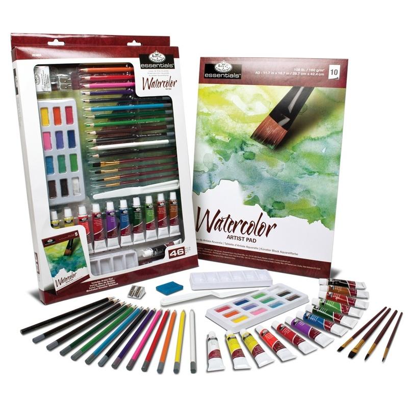 Trusa mixta desen si pictura Essentials