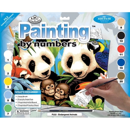 """Pictura pe numere juniori - """"Pisicute"""""""