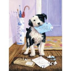 Prima mea pictura pe nr.junior mic - Posta