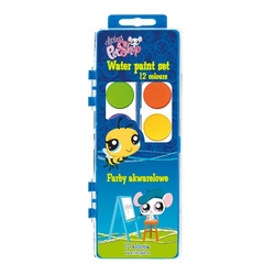 Acuarele 12 culori Littlest Pet Shop