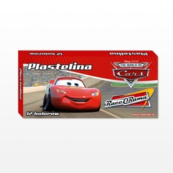 Set 12 culori plastilina Cars Disney