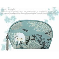 "Pouch accesorii ""Miyuna"" by Kimmidoll"