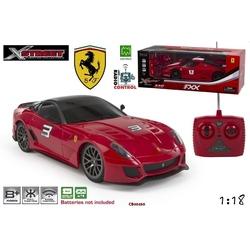 Masina Ferrari California FXX Racing/599XX cu radiocomanda -scara 1:18
