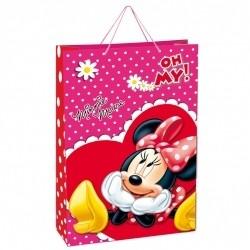 Punga hartie Minnie Mouse 71.5x50.5x18 cm