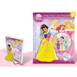 Set cadou ceas masa+pusculita Princess-Alba ca zapada