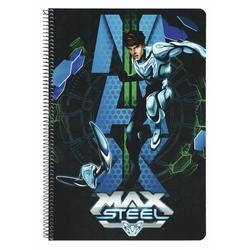 Caiet cu spira A4-80 de file colectia Max Steel