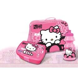 Geanta cu recipiente Hello Kitty
