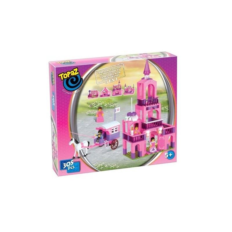Seturi de construit-Castelul printeselor-500 piese compatibile integral si cu piesele produse de alte marci de calitate