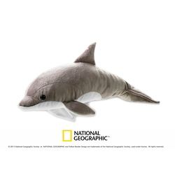Jucarie din plus National Geographic Delfin 40 cm
