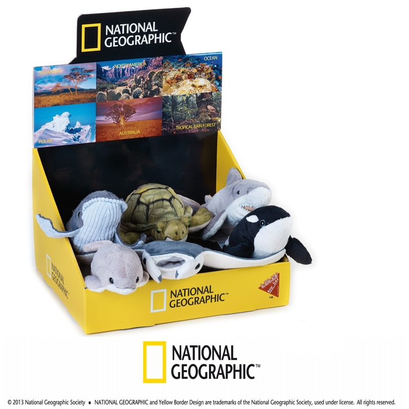 Jucarie din plus National Geographic Rechin 40 cm