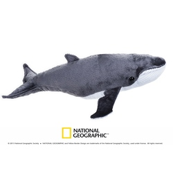 Jucarie din plus National Geographic Balena 40 cm