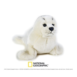 Jucarie din plus National Geographic Foca 34 cm