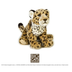 Jucarie din plus National Geographic Jaguar 25 cm