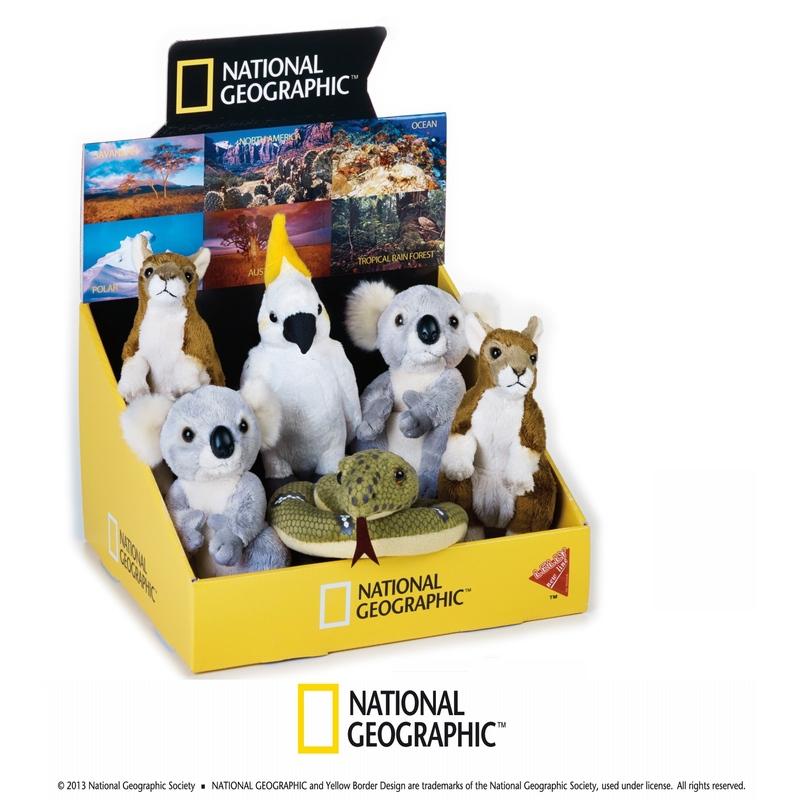 Jucarie din plus National Geographic Animal din Australia 17x20 cm