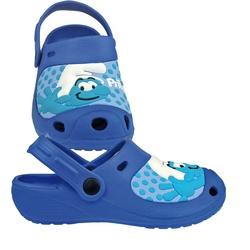 Incaltaminte tip Crocs pentru copii cu Strumfi