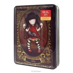 Set sigilii cu ceara in cutie metalica Gorjuss™ Ruby