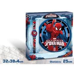 Set ceas perete si ceas de mana Spiderman