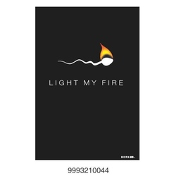 Felicitari BORN 2B - Light my fire