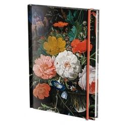 Agenda nedatata cu coperti tari si elastic A5 Flowers, A. Mignon, Bijbels Museum