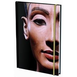 Agenda nedatata cu coperti tari si elastic A5 Berlijn, Nefertiti
