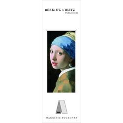 Semn de carte magnetic Girl with the Pearl Earring, Vermeer