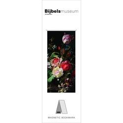 Semn de carte magnetic Flowers, Ruysch, Bijbels Museum