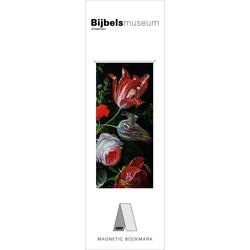 Semn de carte magnetic Flowers, Mignon, Bijbels Museum