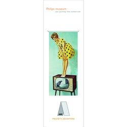 Semn de carte magnetic Television, Philips Museum