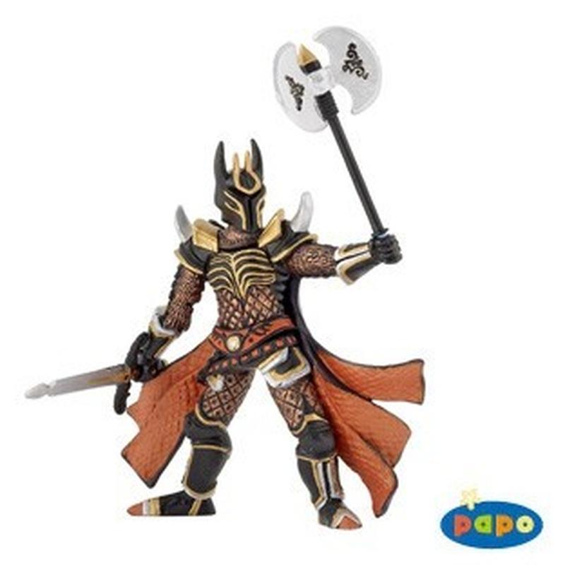 Figurina Papo-Cavaler cu tripla arma