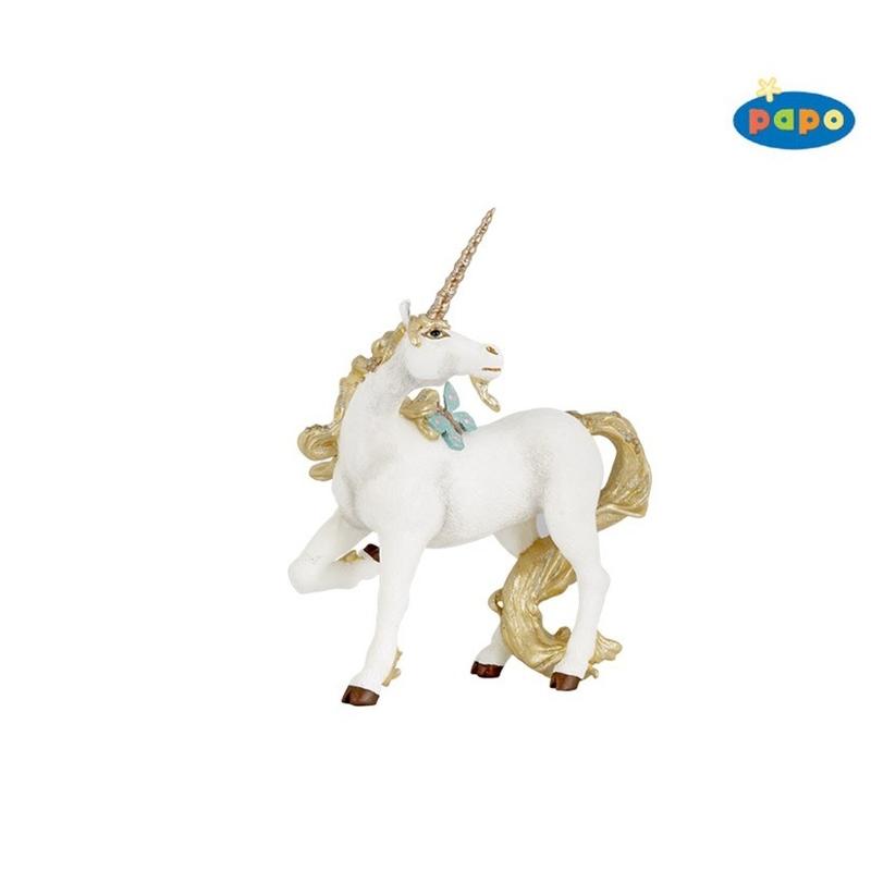 Figurina Papo-Unicorn auriu
