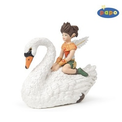 Figurina Papo-Copil pe lebada