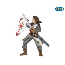 Figurina Papo - Lancelot (rosu)