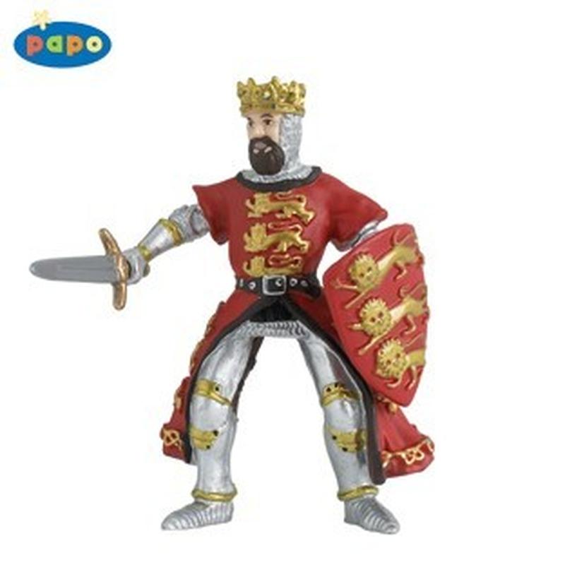 Figurina Papo-Regele Richard (rosu)