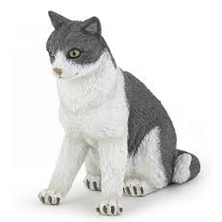 Figurina Papo -Pisicuta sezand