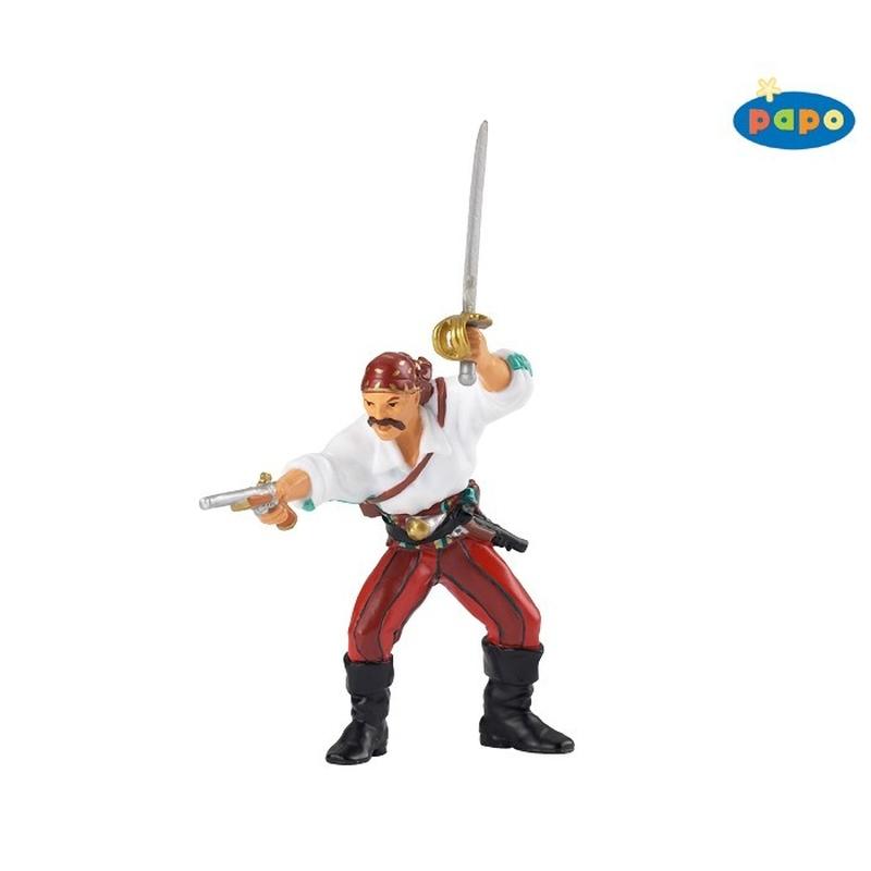 Figurina Papo-Corsar cu arma