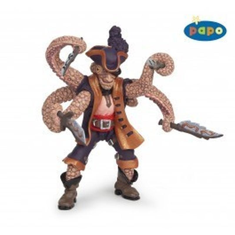 Figurina Papo-Pirat mutant Octopus