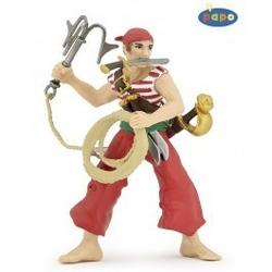 Figurina Papo - Pirat cu ancora rosu