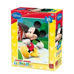 Puzzle-Personaje Disney Mickey Club House (35 piese)-6 modele