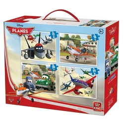 Puzzle 4 in 1 Planes (12,16,20,24 piese)