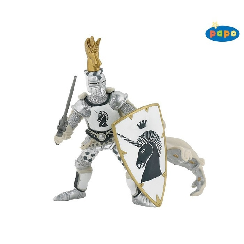 Figurina Papo-Cavalerul Unicorn
