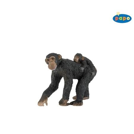 Figurina Papo-Cimpanzeu & pui