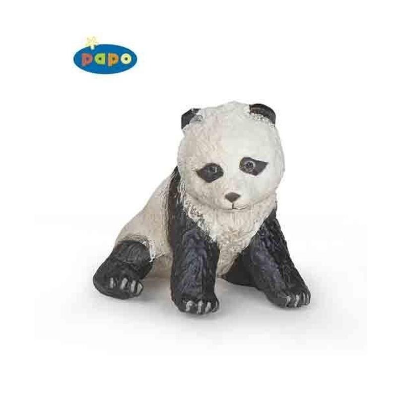 Figurina Papo-Pui panda sezand