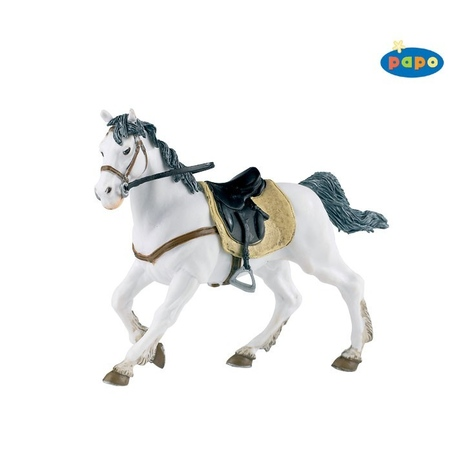 Figurina Papo-Cal andaluzian cu sa