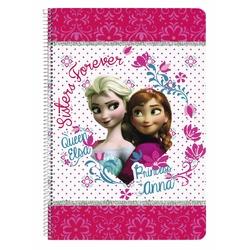 Caiet A4 matematica colectia Frozen II Disney