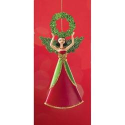Ornamente de brad Zana cu coronita de Craciun