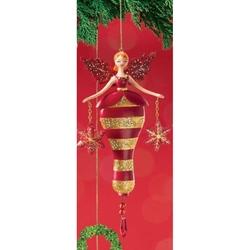 Ornamente de brad Zana Fulg de nea